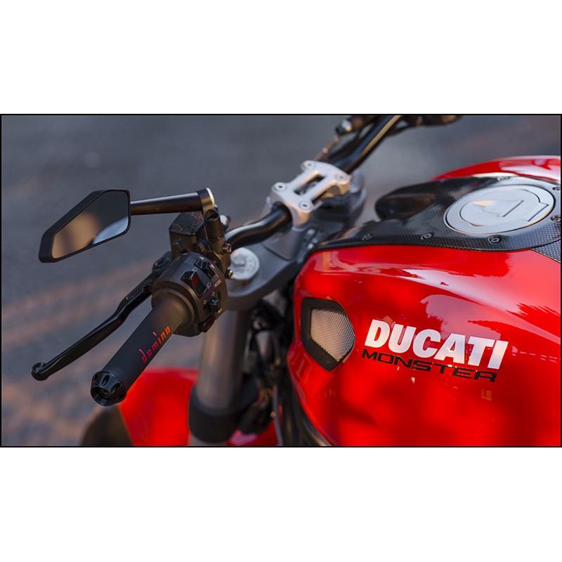 Manubrio SRT ergal nero 22 mm piega bassa Honda CB 900 HORNET