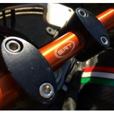 Manubrio piega bassa 22 mm in ergal SRT